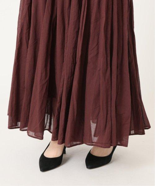 IENA(イエナ)/《予約》コットンボイルギャザーパネルスカート◆/19060900900020_img16