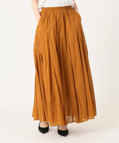 IENA(イエナ)/《予約》コットンボイルギャザーパネルスカート◆/19060900900020_img22