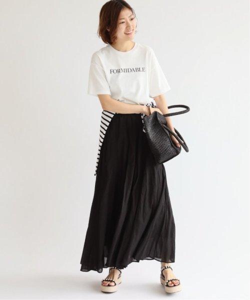 IENA(イエナ)/《予約》コットンボイルギャザーパネルスカート◆/19060900900020_img31