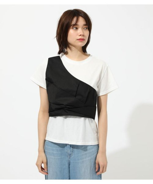 AZUL by moussy(アズールバイマウジー)/ONE SHOULDER BUSTIER TOPS/250CSM80-137D_img03
