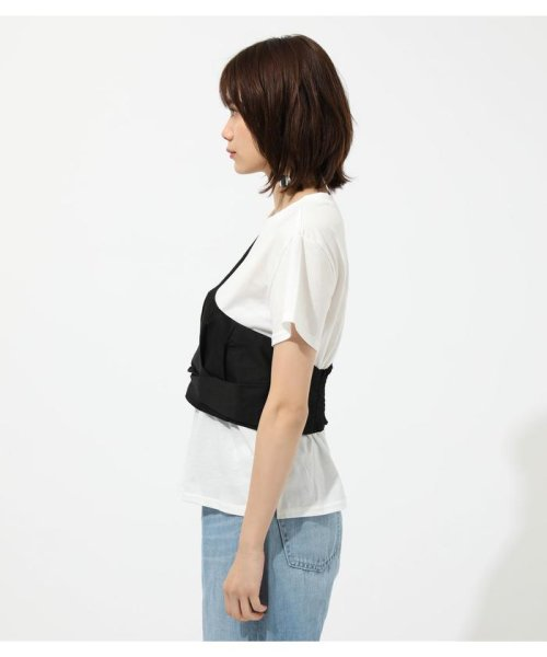 AZUL by moussy(アズールバイマウジー)/ONE SHOULDER BUSTIER TOPS/250CSM80-137D_img04