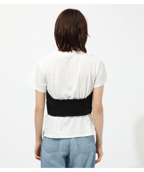 AZUL by moussy(アズールバイマウジー)/ONE SHOULDER BUSTIER TOPS/250CSM80-137D_img05