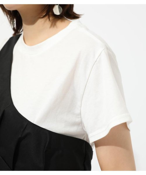 AZUL by moussy(アズールバイマウジー)/ONE SHOULDER BUSTIER TOPS/250CSM80-137D_img07