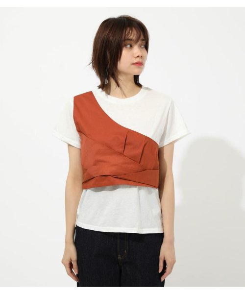 AZUL by moussy(アズールバイマウジー)/ONE SHOULDER BUSTIER TOPS/250CSM80-137D_img11