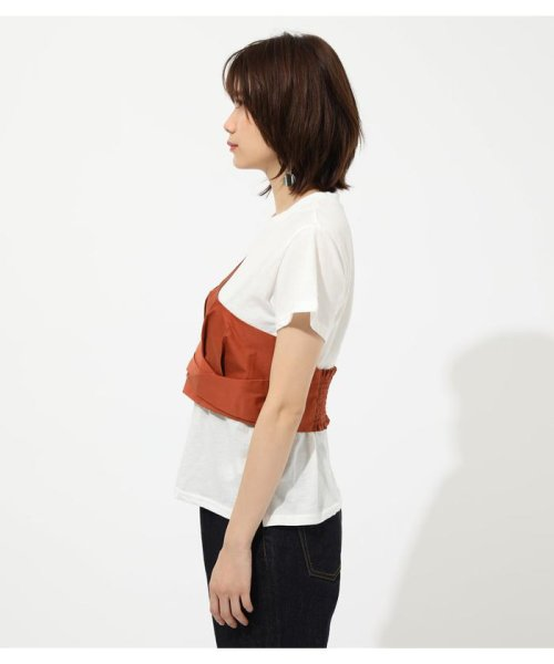 AZUL by moussy(アズールバイマウジー)/ONE SHOULDER BUSTIER TOPS/250CSM80-137D_img12