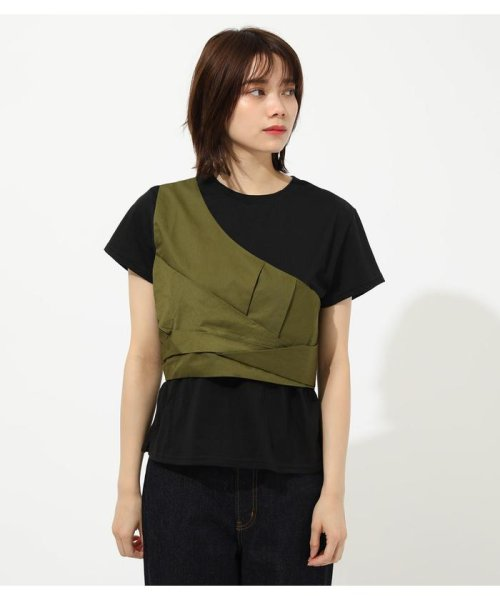 AZUL by moussy(アズールバイマウジー)/ONE SHOULDER BUSTIER TOPS/250CSM80-137D_img19