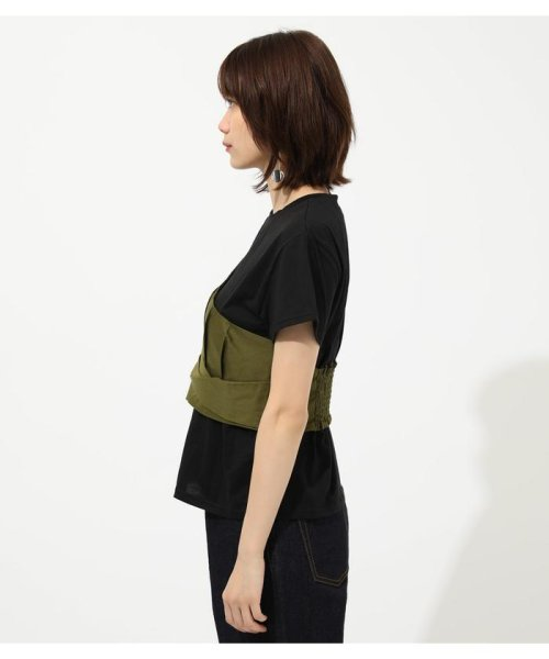 AZUL by moussy(アズールバイマウジー)/ONE SHOULDER BUSTIER TOPS/250CSM80-137D_img20