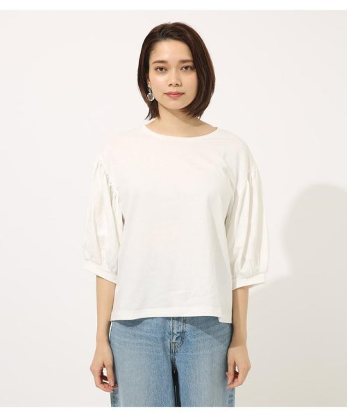 AZUL by moussy(アズールバイマウジー)/Volume sleeve cut top/250CSA80-464D_img03