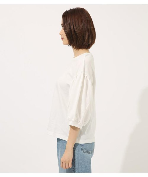 AZUL by moussy(アズールバイマウジー)/Volume sleeve cut top/250CSA80-464D_img04