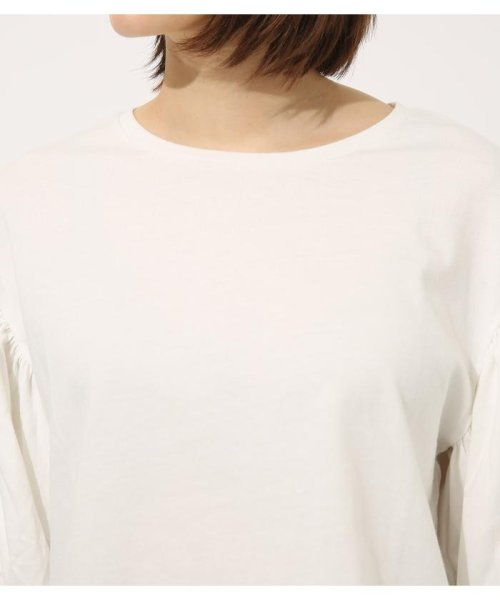 AZUL by moussy(アズールバイマウジー)/Volume sleeve cut top/250CSA80-464D_img06