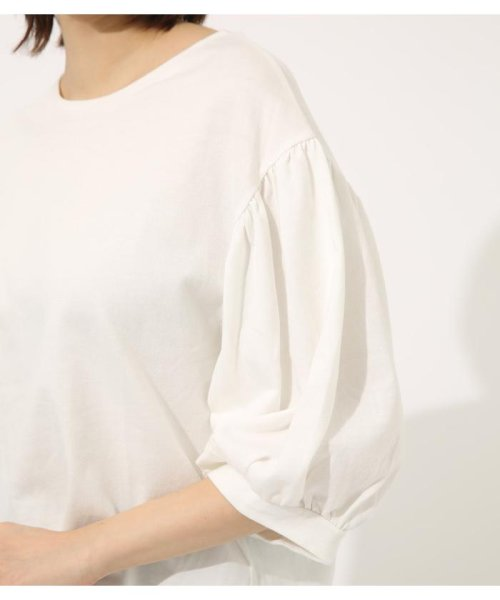 AZUL by moussy(アズールバイマウジー)/Volume sleeve cut top/250CSA80-464D_img07