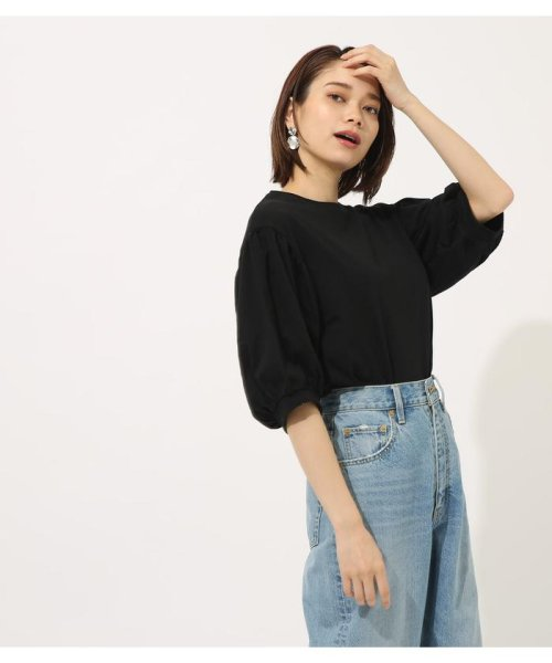 AZUL by moussy(アズールバイマウジー)/Volume sleeve cut top/250CSA80-464D_img09