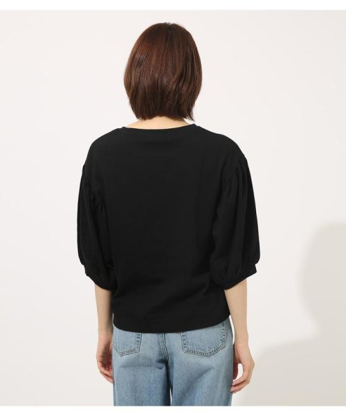 AZUL by moussy(アズールバイマウジー)/Volume sleeve cut top/250CSA80-464D_img13