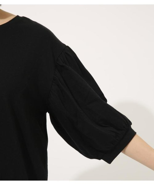 AZUL by moussy(アズールバイマウジー)/Volume sleeve cut top/250CSA80-464D_img15