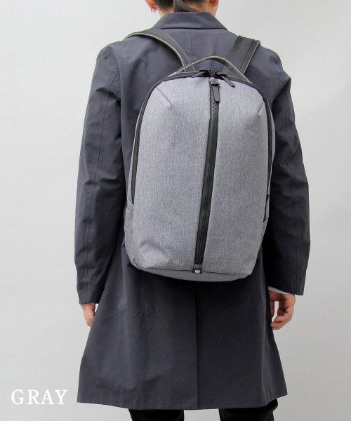 REGiSTA(レジスタ)/へザーナイロンフロントジップバックパック/597_img12
