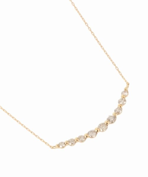 DECOUVERTE(デクーヴェルト)/18KYG 0.3ct ダイヤモンド ネックレス/19110895006610_img04