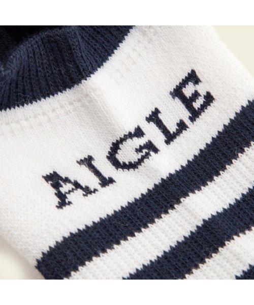 AIGLE UNISEX(エーグル ユニセックス)/ロゴカバーソックス/ZRA014J_img03