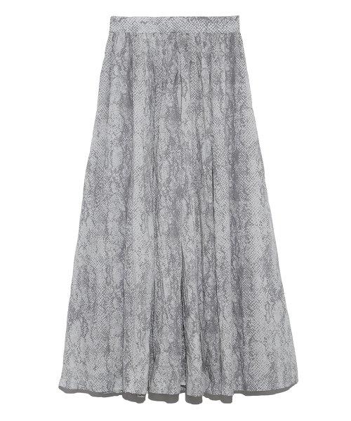 Mila Owen ワッシャープリーツセットアップマキシスカート