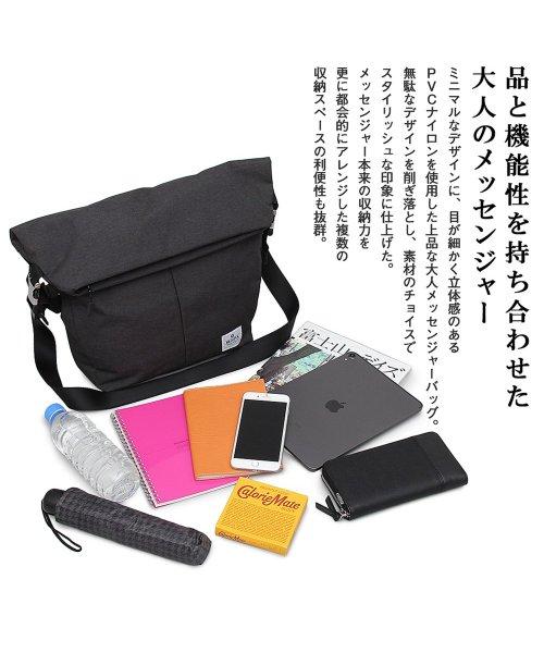 REGiSTA(レジスタ)/口折れPVCナイロンメッセンジャーバッグ/555_img01