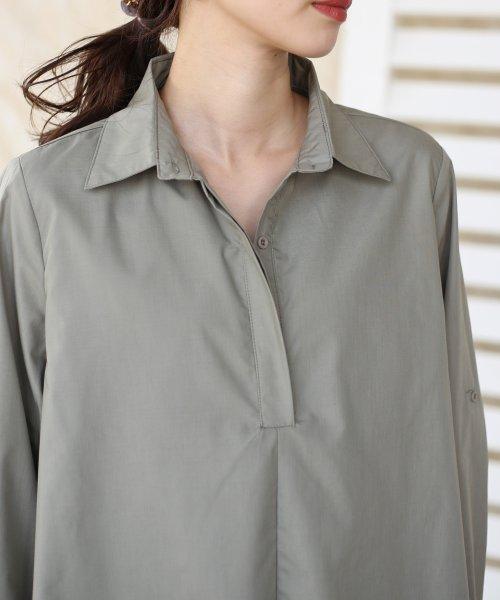 Bou Jeloud(ブージュルード)/裾フレア◆レイヤードシャツチュニック/691089_img11