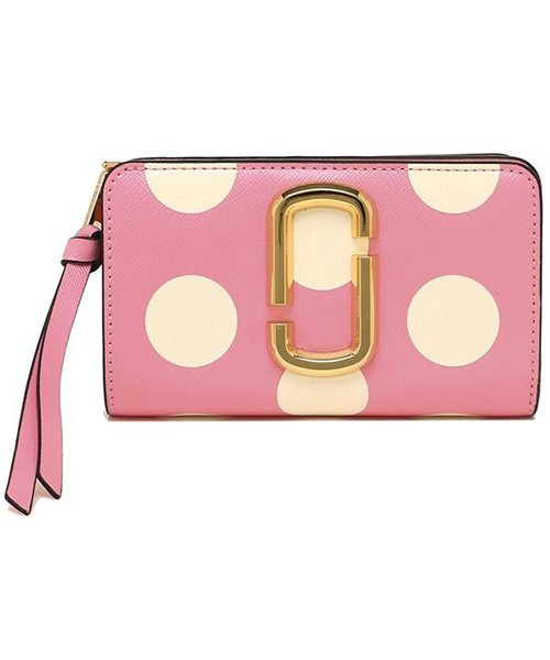 Marc Jacobs(マークジェイコブス)/MARC JACOBS M0014836 746 THE DOT SNAPSHOT  COMPACT WALLET レディース 二つ折り財布 ドット 水玉 /mjm0014836746_img04