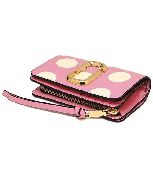 Marc Jacobs(マークジェイコブス)/MARC JACOBS M0014836 746 THE DOT SNAPSHOT  COMPACT WALLET レディース 二つ折り財布 ドット 水玉 /mjm0014836746_img06