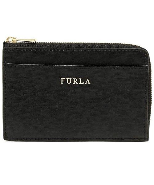 FURLA(フルラ)/ FURLA 907847 PR75 B30 O60 BABYLON M CREDIT CARD CASE バビロン 名刺入れ・カードケース 無地 ONYX 黒/fu907847_img04