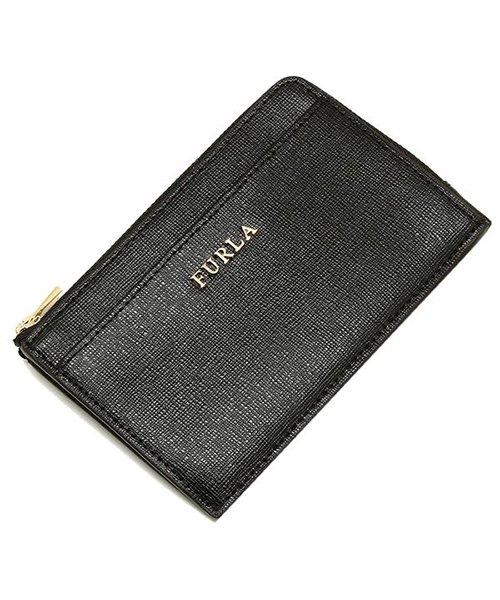 FURLA(フルラ)/ FURLA 907847 PR75 B30 O60 BABYLON M CREDIT CARD CASE バビロン 名刺入れ・カードケース 無地 ONYX 黒/fu907847_img07