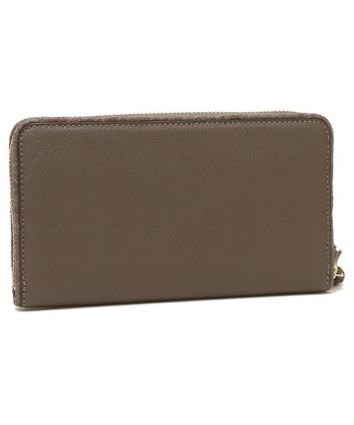 TORY BURCH(トリーバーチ)/TORY BURCH 52721 963 TAYLOR ZIP CONTINENTAL WALLET レディース 長財布 無地 SILVER MAPLE/tof52721963_img02