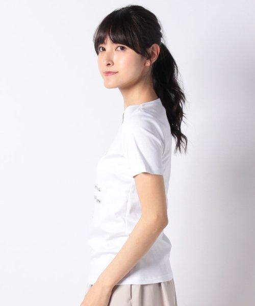 MISS J(ミス ジェイ)/【洗える】パイナップル ロゴTシャツ/630845_img02