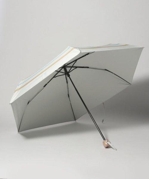 Afternoon Tea LIVING(アフタヌーンティー・リビング)/マリンボーダー晴雨兼用折りたたみ傘 日傘/FY2319201552_img01