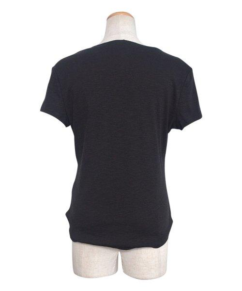ANDJ(ANDJ(アンドジェイ))/ヘンリーネックポケット付き天竺Tシャツ/ts00x04300_img17