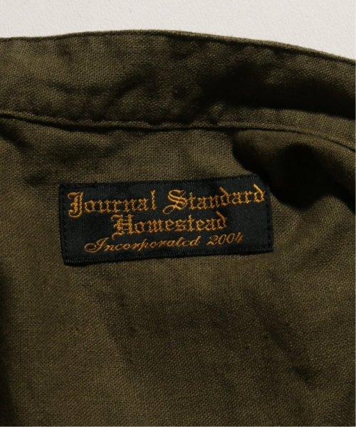 J.S Homestead(ジャーナルスタンダード ホームステッド)/BAND COLLAR SHIRT LONG C/L/19050470605010_img11
