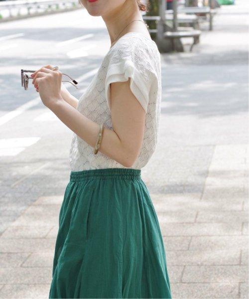 IENA(イエナ)/《予約》コットンボイルギャザーパネルスカート◆/19060900900020_img48