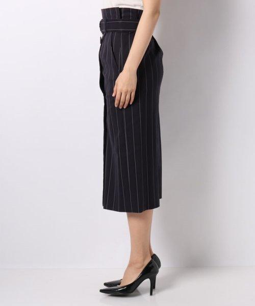 JOCONDE ROYAL(ジョコンダ ロイヤル)/ストライプロングタイトスカート(共布ベルト付き)/099398_img01