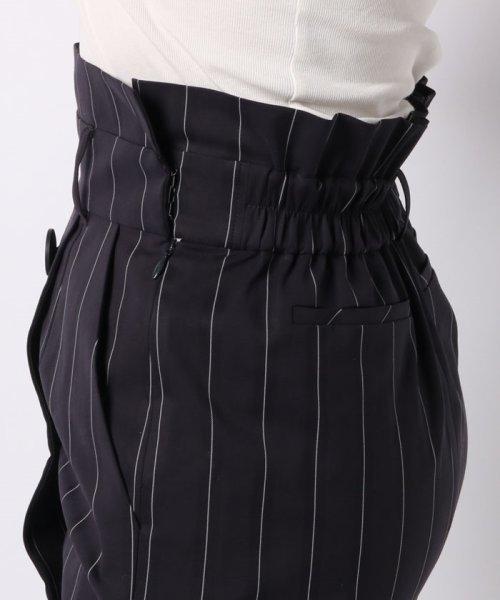 JOCONDE ROYAL(ジョコンダ ロイヤル)/ストライプロングタイトスカート(共布ベルト付き)/099398_img04