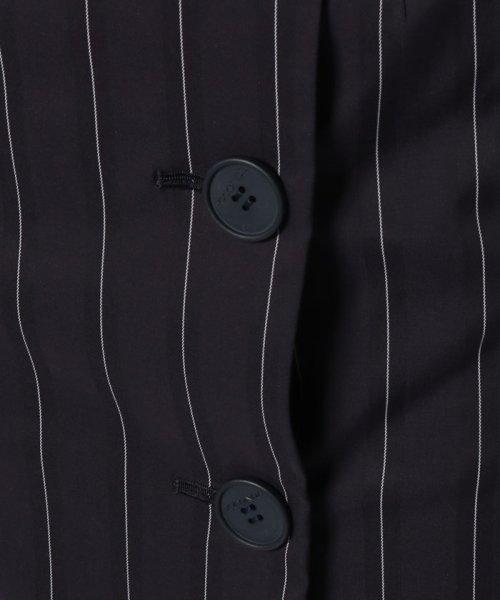 JOCONDE ROYAL(ジョコンダ ロイヤル)/ストライプロングタイトスカート(共布ベルト付き)/099398_img06