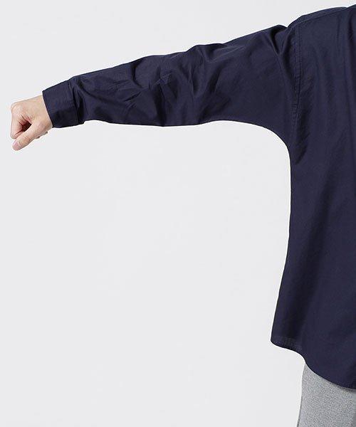 nano・universe(ナノ・ユニバース)/大人のワイドシャツ バンドカラー/6689120048_img07