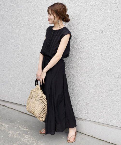 SHIPS WOMEN(シップス ウィメン)/【手洗い可能】コットンシルクギャザースカート ◇/313221850_img04