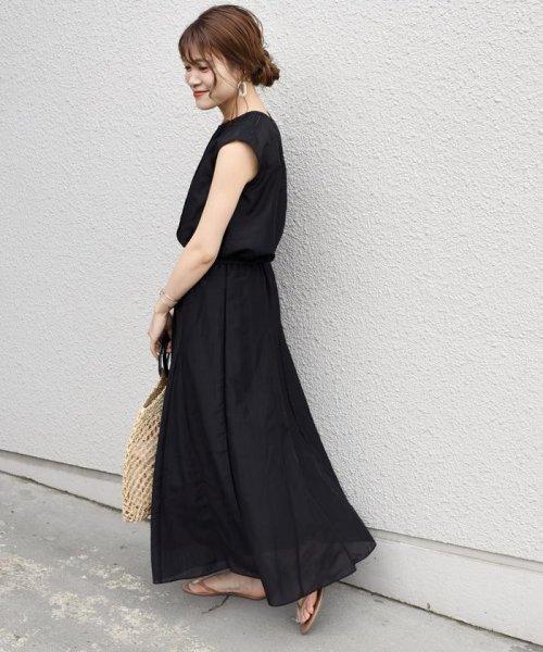 SHIPS WOMEN(シップス ウィメン)/【手洗い可能】コットンシルクギャザースカート ◇/313221850_img05