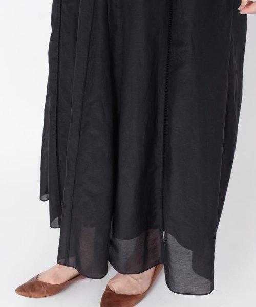 SHIPS WOMEN(シップス ウィメン)/【手洗い可能】コットンシルクギャザースカート ◇/313221850_img17