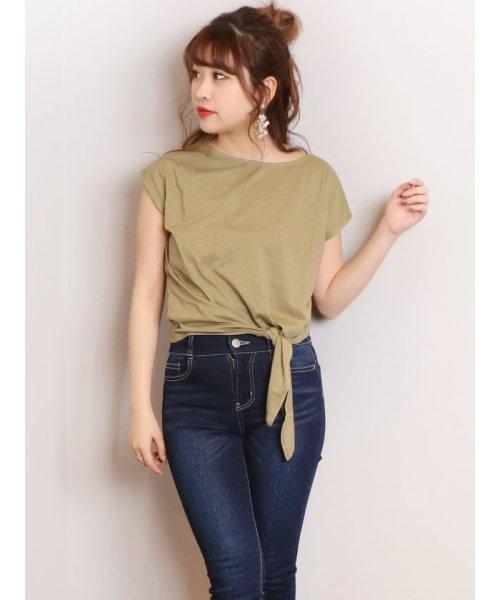 dazzlin(ダズリン)/basic ribon Tシャツ/021932700901_img01
