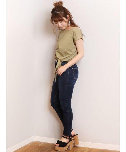 dazzlin(ダズリン)/basic ribon Tシャツ/021932700901_img22