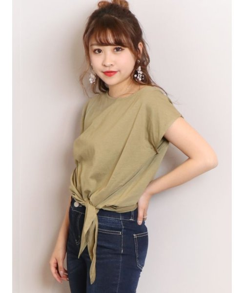 dazzlin(ダズリン)/basic ribon Tシャツ/021932700901_img24