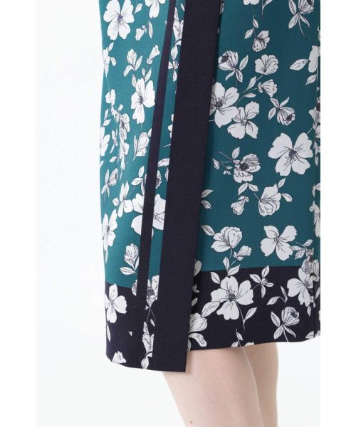 NATURAL BEAUTY(ナチュラル ビューティー)/◆[ウォッシャブル]スカーフエッジフラワースカート/0189120507_img13