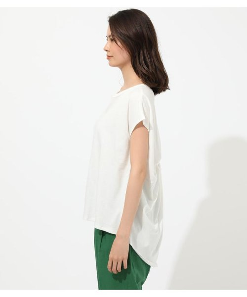 AZUL by moussy(アズールバイマウジー)/BACK TWIST FRENCH SLEEVE TOP/250CSA80-577F_img04