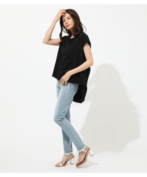 AZUL by moussy(アズールバイマウジー)/BACK TWIST FRENCH SLEEVE TOP/250CSA80-577F_img10