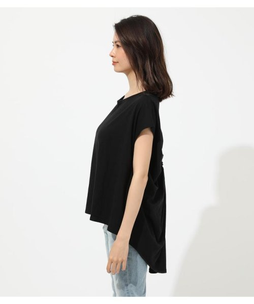 AZUL by moussy(アズールバイマウジー)/BACK TWIST FRENCH SLEEVE TOP/250CSA80-577F_img12