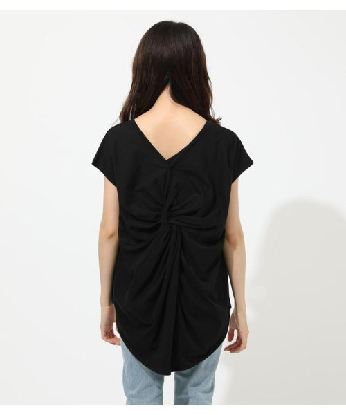 AZUL by moussy(アズールバイマウジー)/BACK TWIST FRENCH SLEEVE TOP/250CSA80-577F_img13