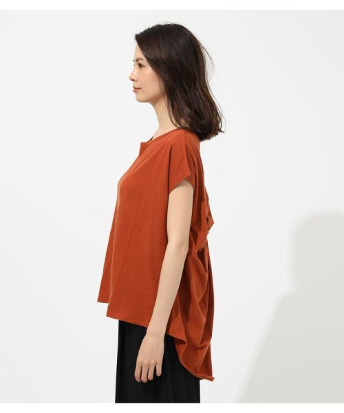 AZUL by moussy(アズールバイマウジー)/BACK TWIST FRENCH SLEEVE TOP/250CSA80-577F_img19